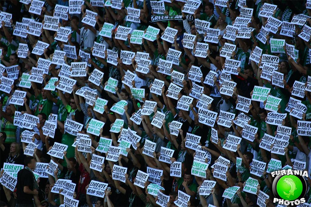 """Communiqué des Green Angels : """"les joueurs et dirigeants passent, les GA restent !"""
